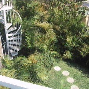 jardin desde nivel superior