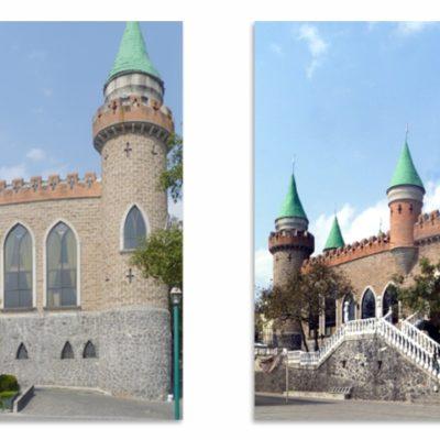 Retoque castillo Longford, Ajusco, CDMX